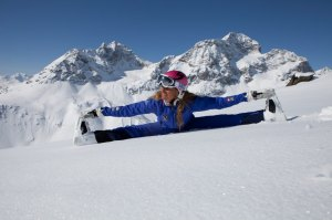 Yoga on Snow