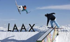 Laax Winter  2009, NoName Park