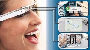 Google glass foto